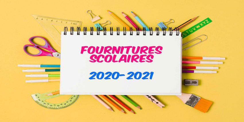 Permalien vers:Liste des fournitures scolaires 2020-2021