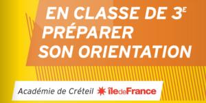 Orientation post 3ème – Catalogue ONISEP – 03/05/2020